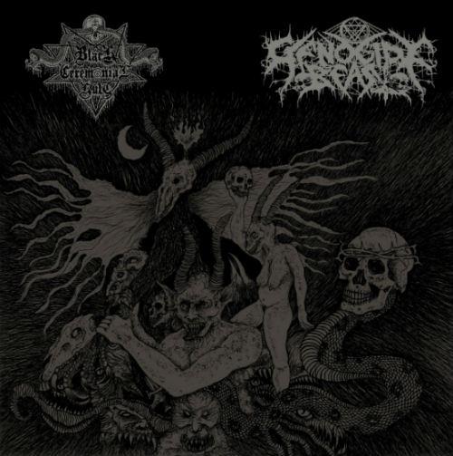 black ceremonial kult / genocide beast – demo xxiv / demo xxv [split]