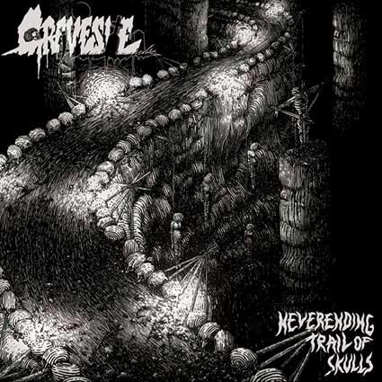 gravesite – neverending trail of skulls