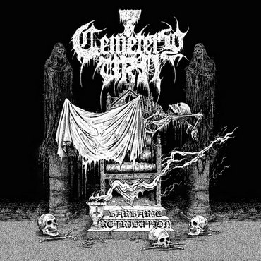 cemetery urn – barbaric retribution