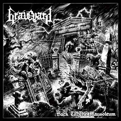 graveyard – back to the mausoleum [ep]