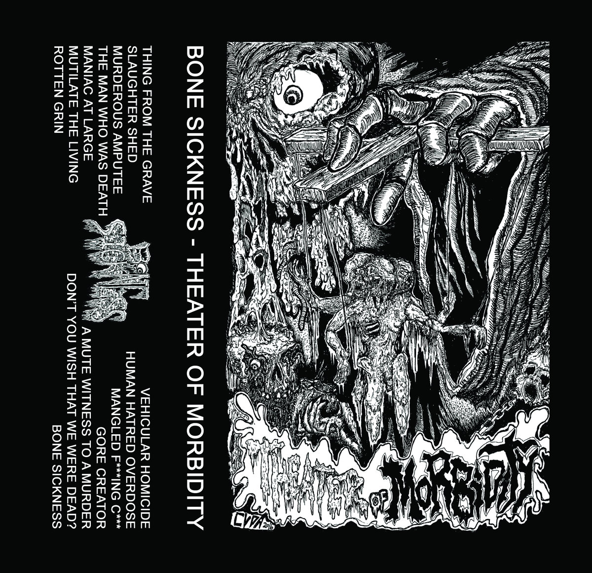 bone sickness – theatre of morbidity