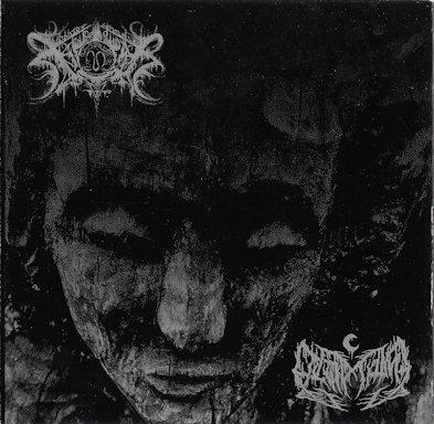 xasthur / leviathan –  xasthur / leviathan [split – re-release]