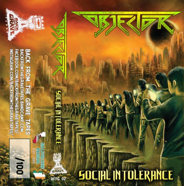 objector – social intolerance