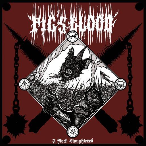 pig's blood – a flock slaughtered