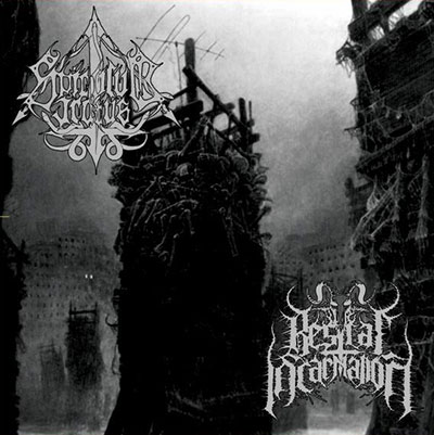 bestial incarnation / spiculum iratus – monuments of decimation [split]
