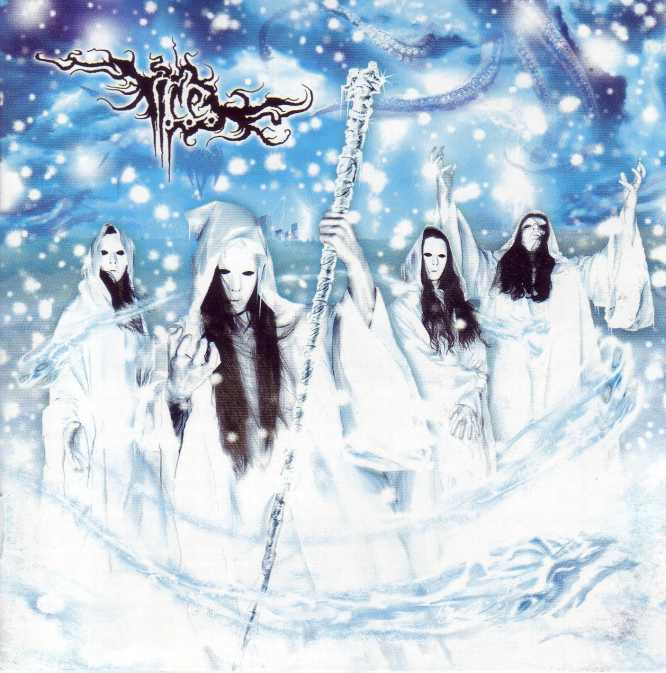 imperial crystalline entombment – apocalyptic end in white