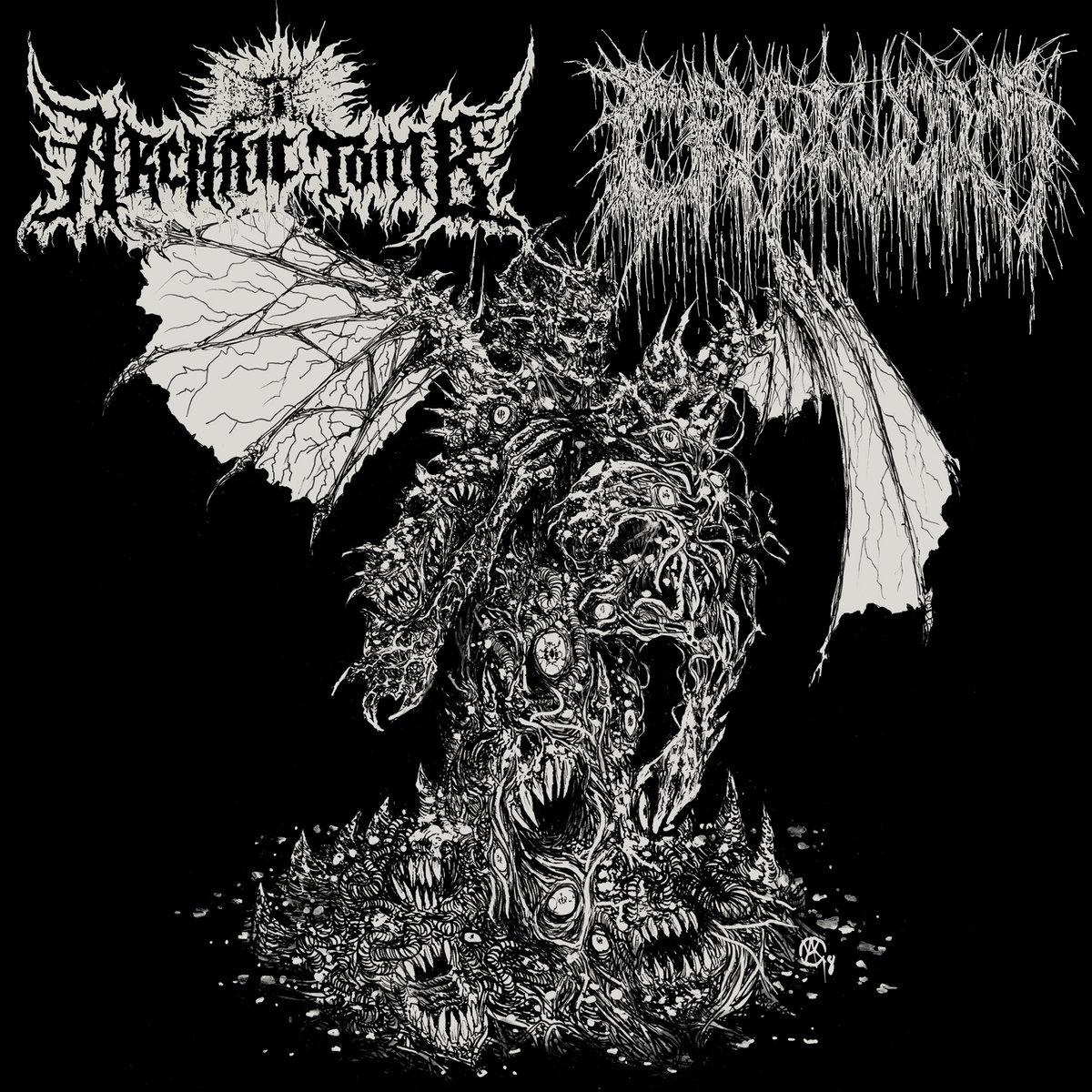 archaic tomb / cryptworm – persecution paraphrenalia / putrefactive regurgitation [split]
