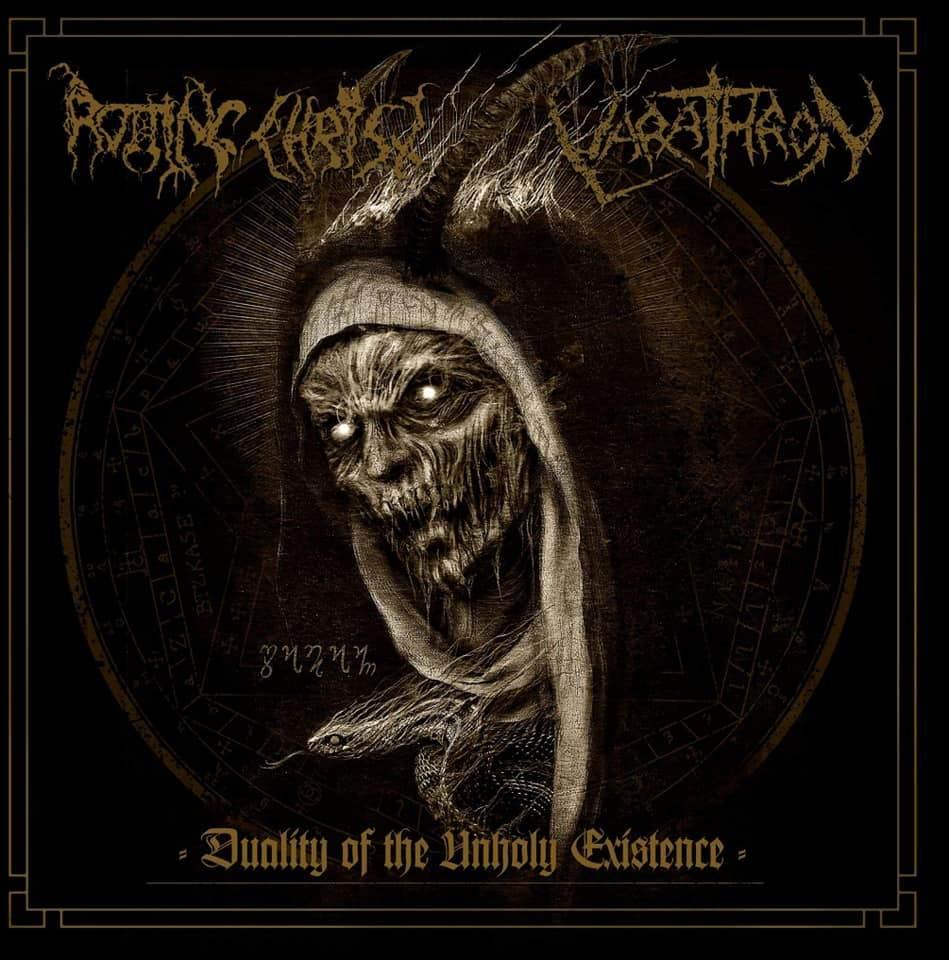 rotting christ / varathron – duality of the unholy existence [split]