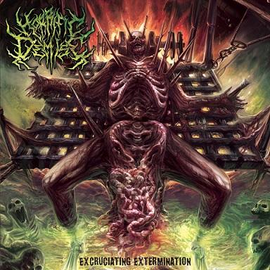 horrific demise – excruciating extermination