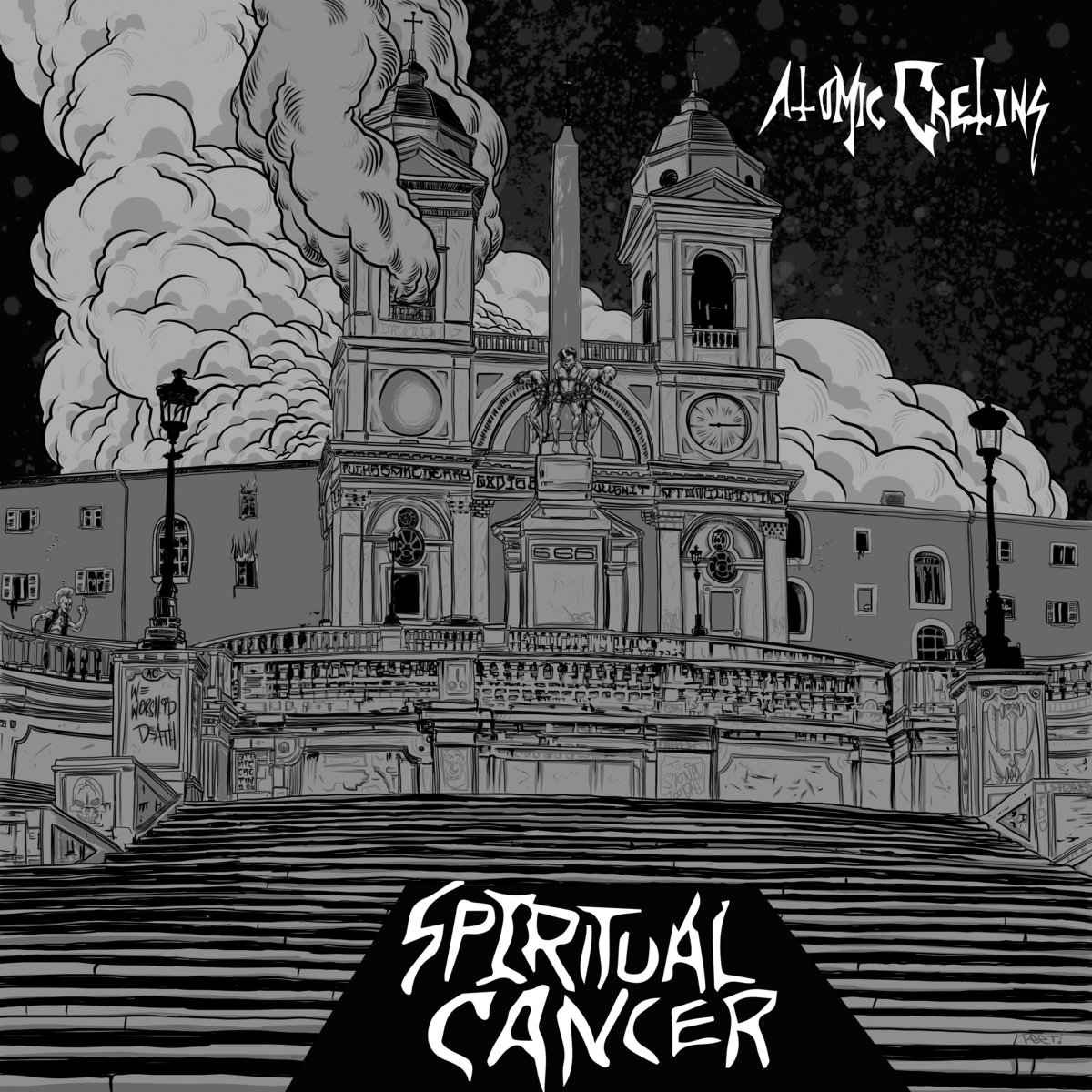 atomic cretins – spiritual cancer [ep]
