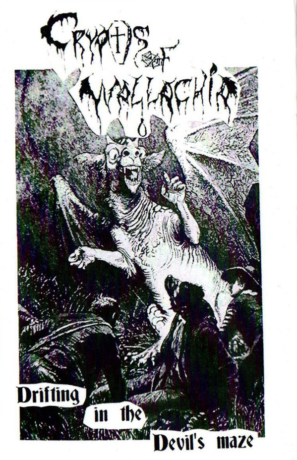 crypts of wallachia – drifting in the devil's maze [demo]