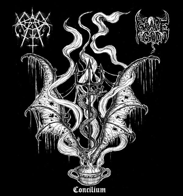 graves / grave of god – concilium [split]