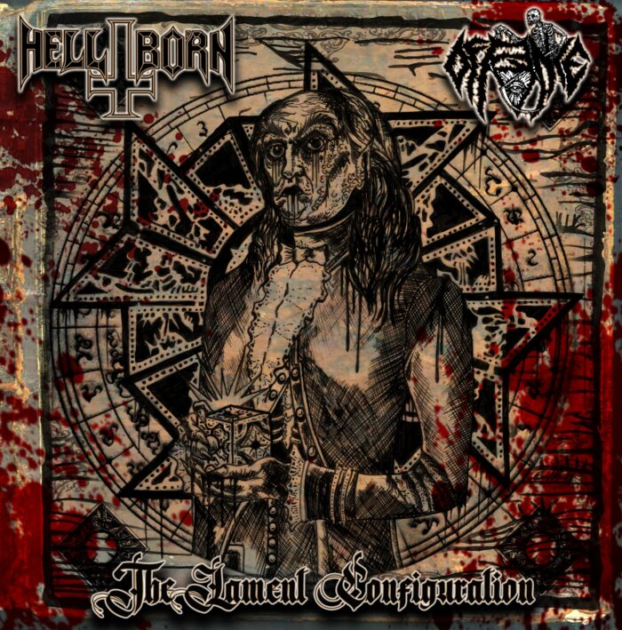 hell-born / offence – hellbound hearts [split]