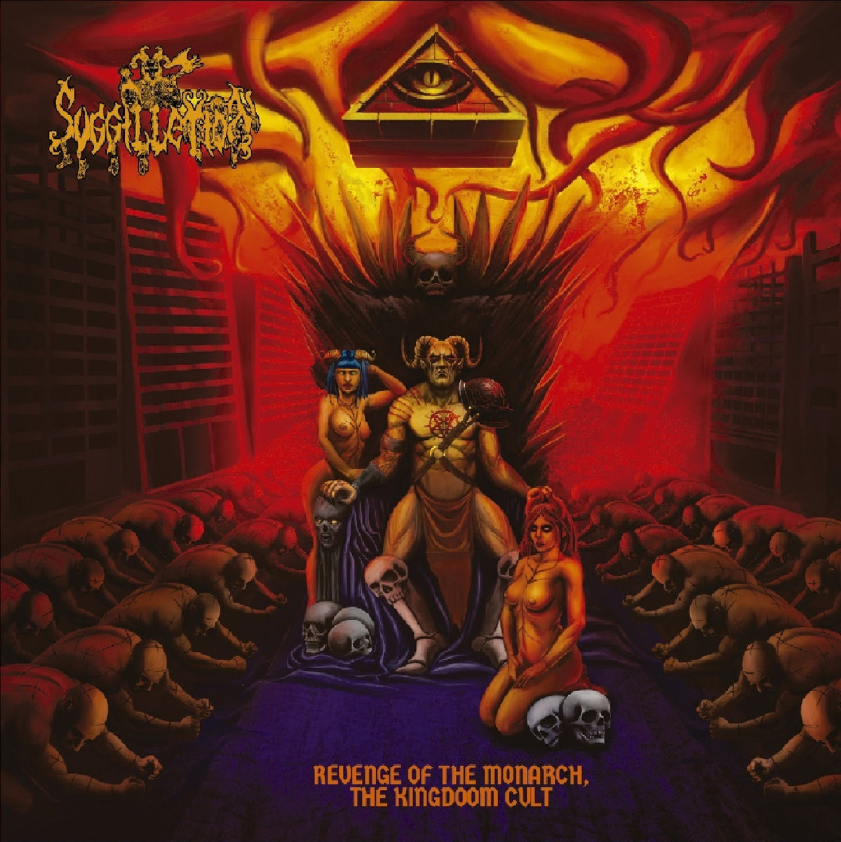 suggillation – revenge of the monarch, the kingdoom cult