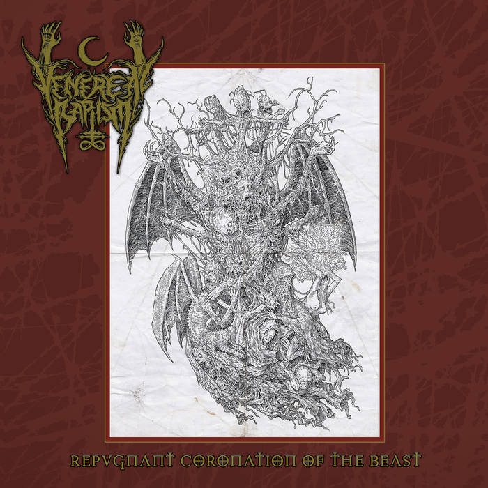 venereal baptism – repugnant coronation of the beast