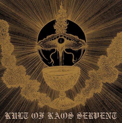 djevelkult / kyy / nihil kaos – kult of kaos serpent [split]