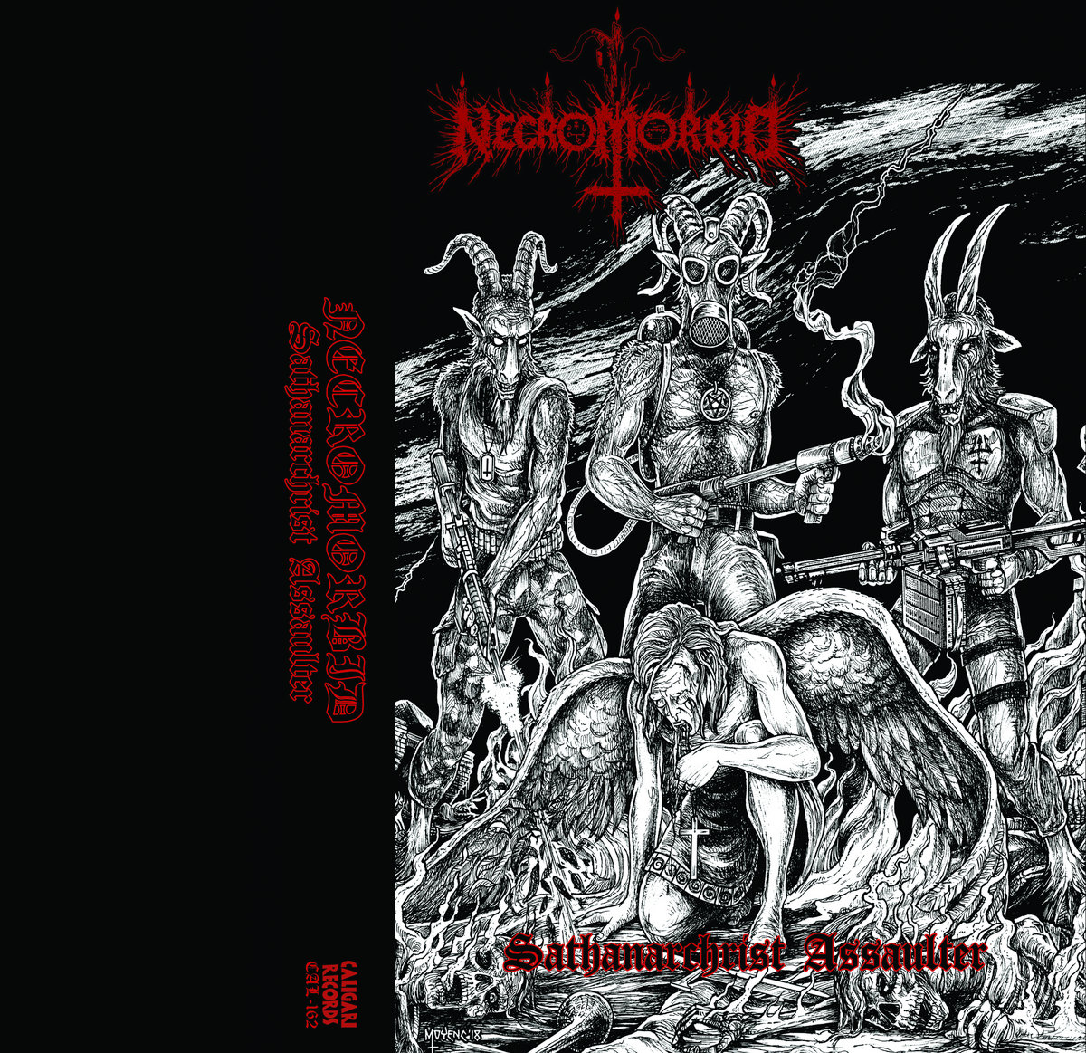 necromorbid – sathanarchrist assaulter