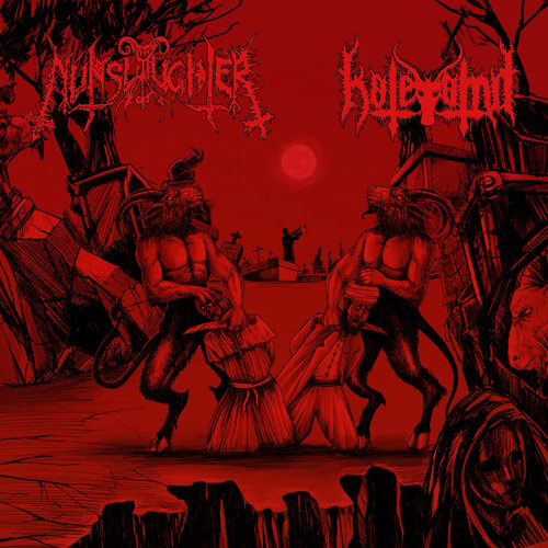 hatevomit / nunslaughter – hatevomit / nunslaughter [split]