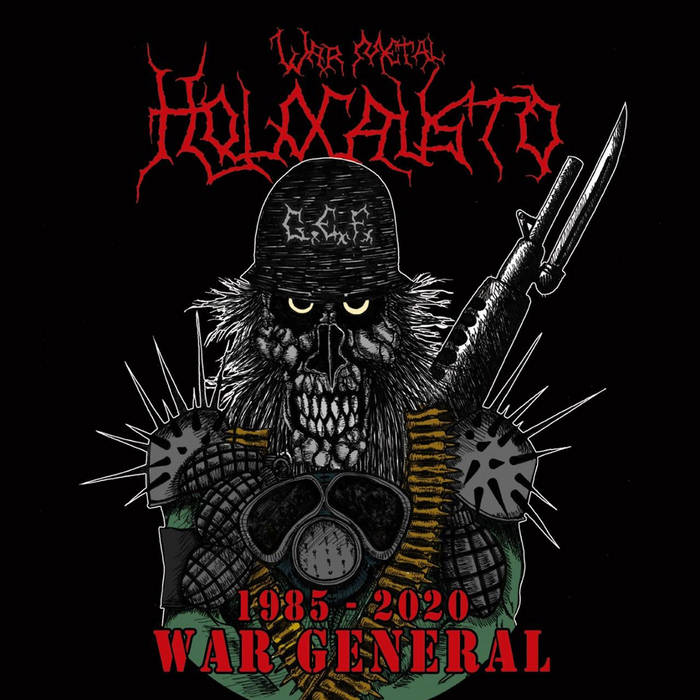 holocausto war metal – war general [demo]