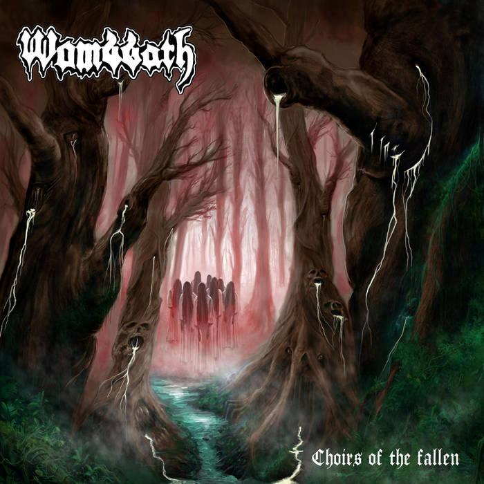 wombbath – choirs of the fallen