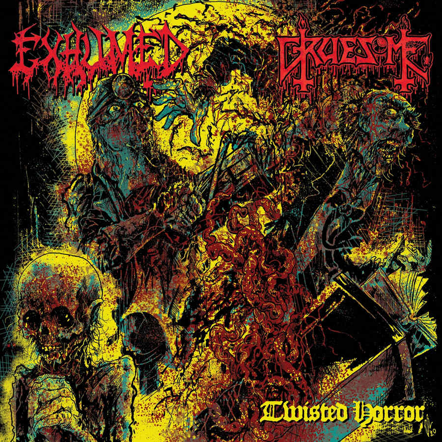 exhumed / gruesome – twisted horror [split]