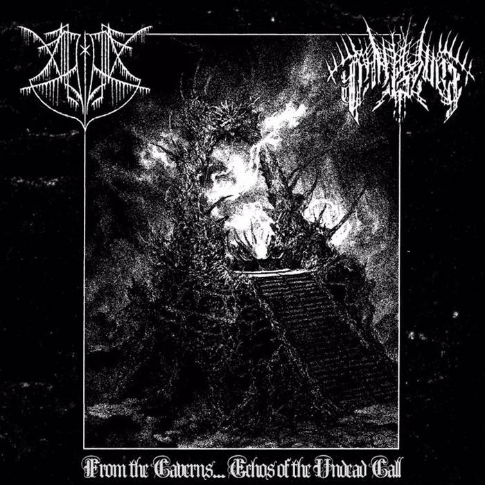 panzerwar / alghol – from the caverns...echos of the undead call [split]
