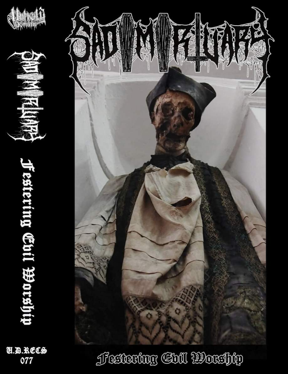 sadomortuary – festering evil worship [demo]