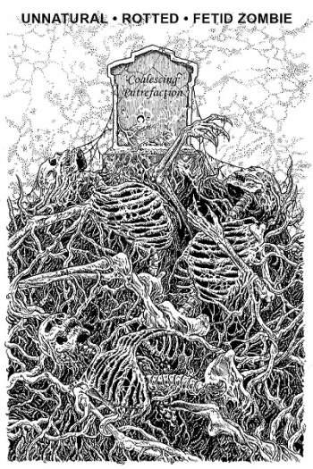 unnatural / rotted / fetid zombie – coalescing putrefaction [split]