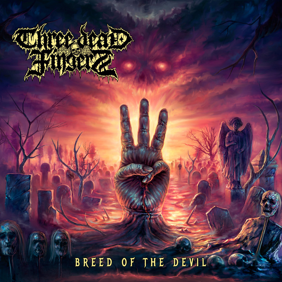three dead fingers – breed of the devil