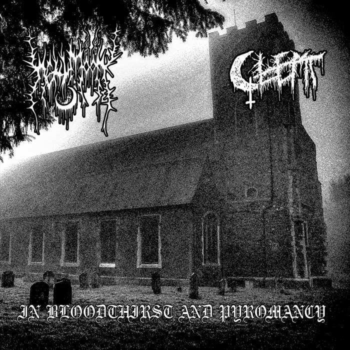 hellmoon / glemt – in bloodthirst and pyromancy [split]