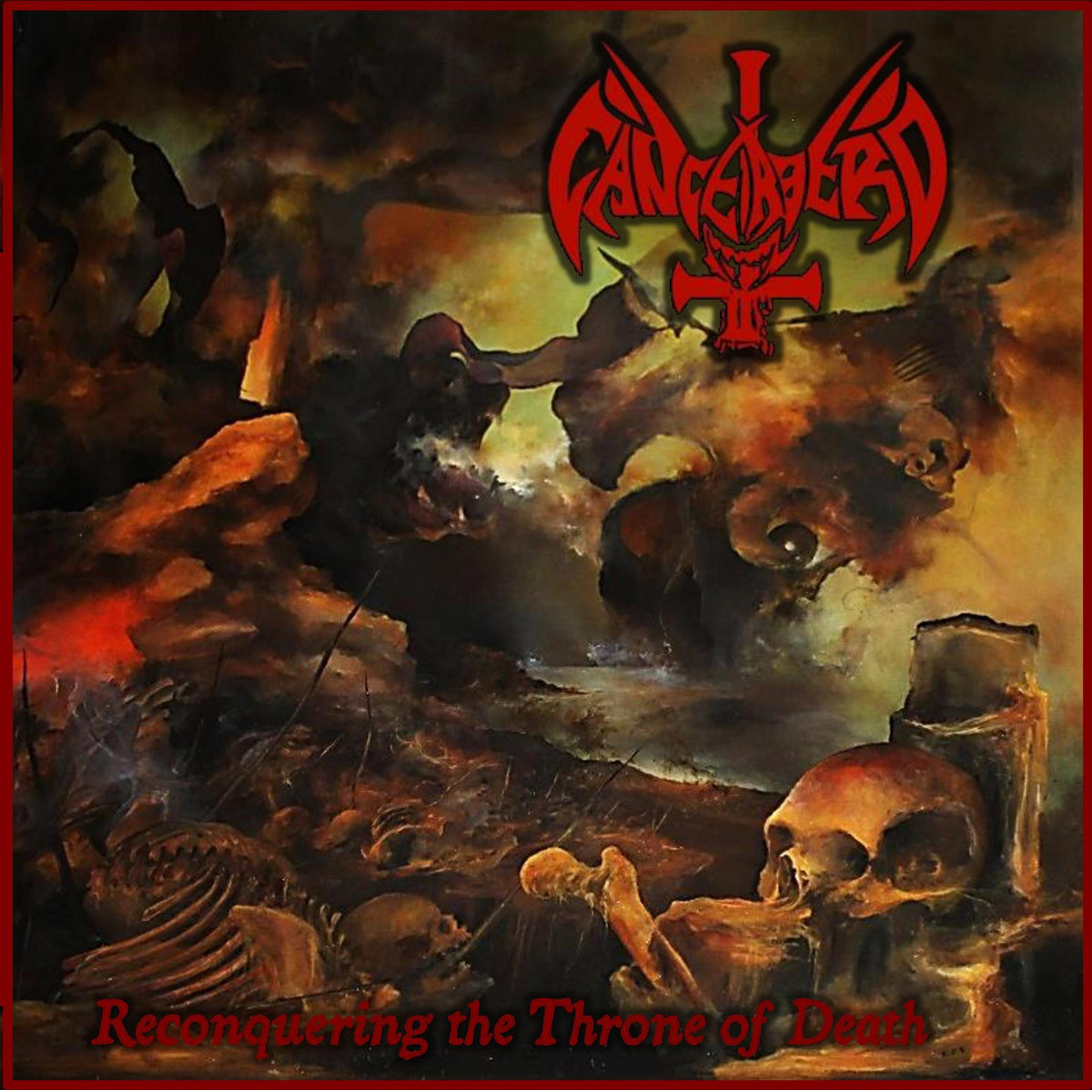 cancerbero – reconquering the throne of death