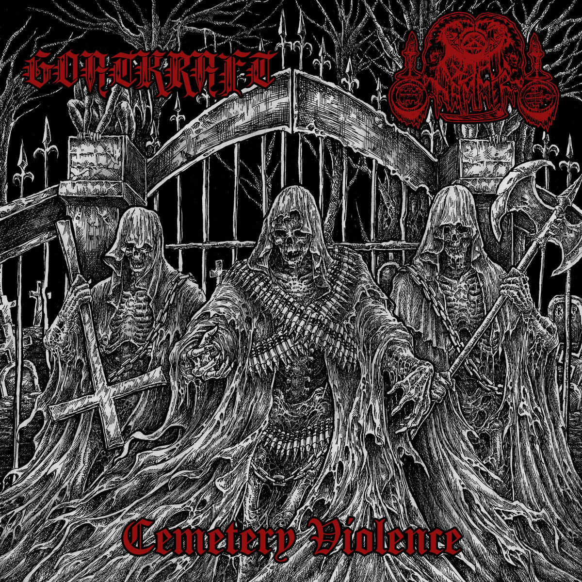 goatkraft / goathammer – cemetery violence [split]