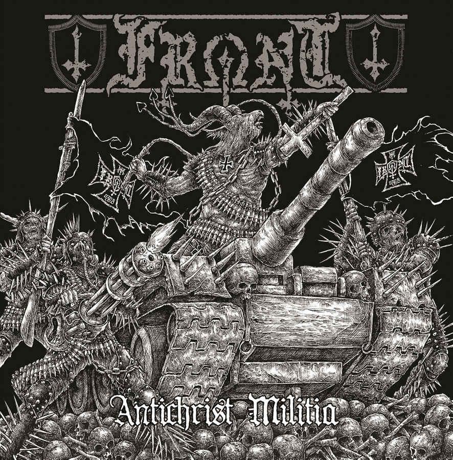 front – antichrist militia [ep]