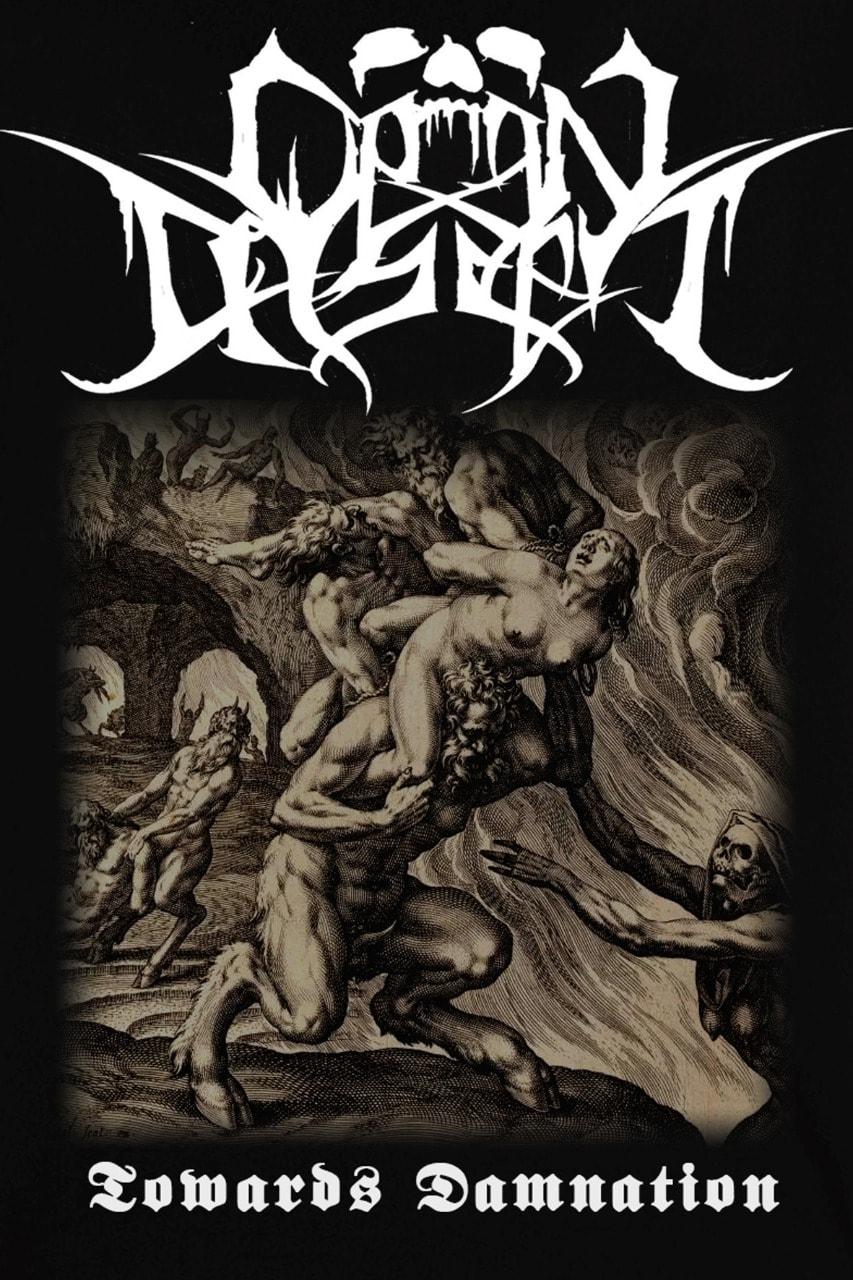 open casket – towards damnation [demo]
