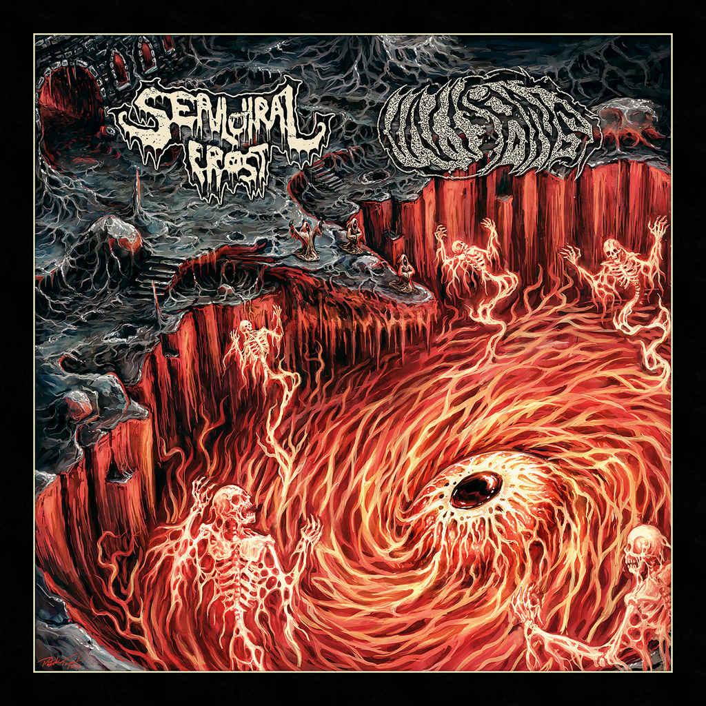 inisans / sepulchral frost – death fire darkness [split]