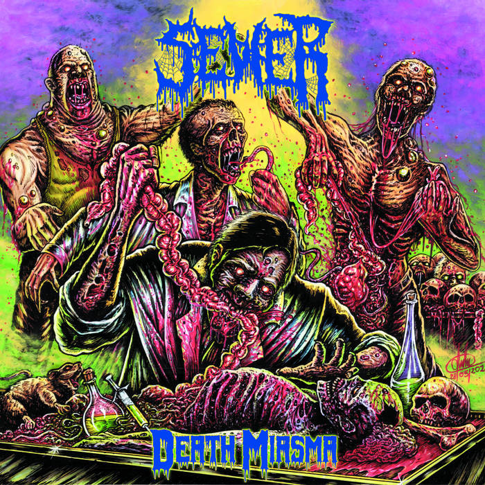 sewer – death miasma [ep]