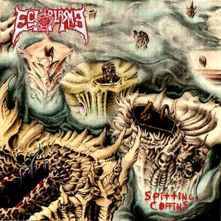 ectoplasma – spitting coffins