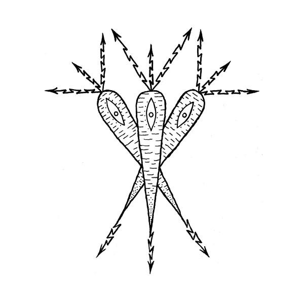 oksennus – kolme toista