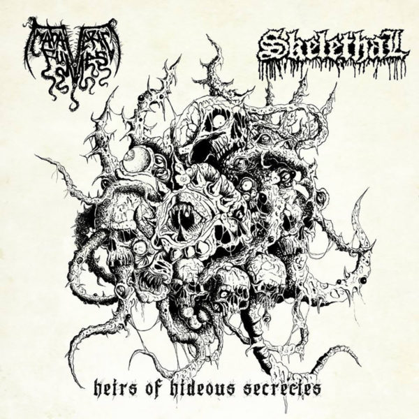 skelethal / cadaveric fumes – heirs of hideous secrecies [split]