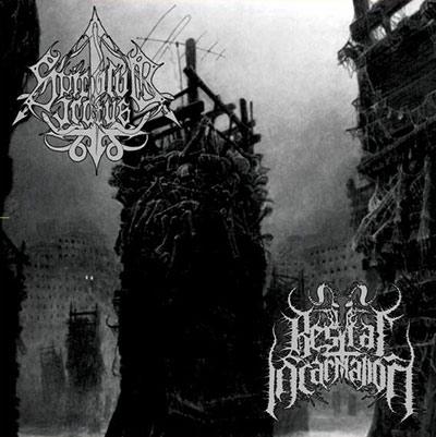bestial incarnation / spiculum iratus – monuments of decimation [split]