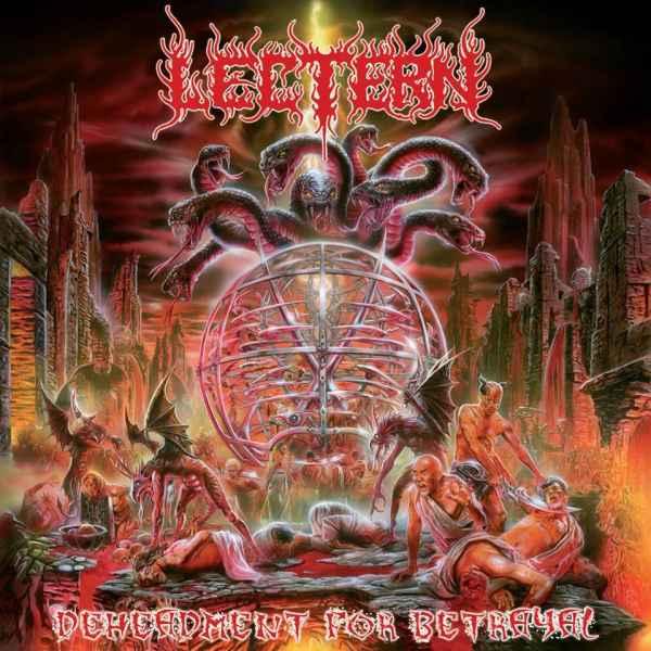 lectern – deheadment for betrayal