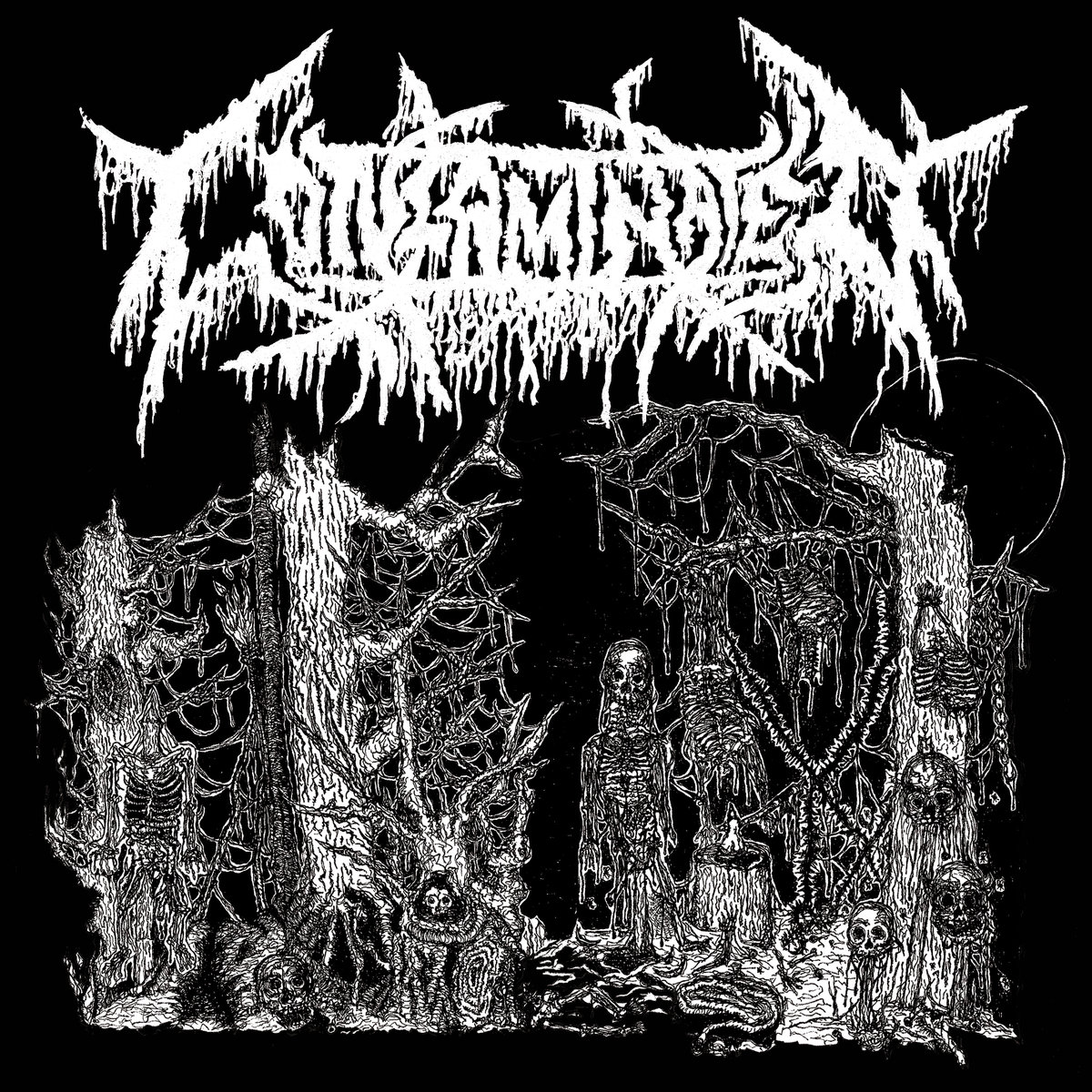 contaminated /  kutabare – death sick / funeral erection [split]