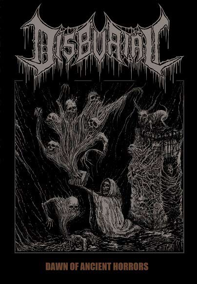 disburial – dawn of ancient horrors [ep]