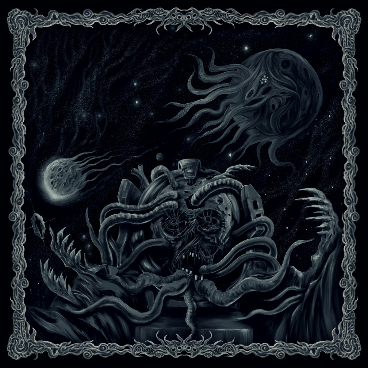 cosmic void ritual – grotesque infections of planetary divide [ep]