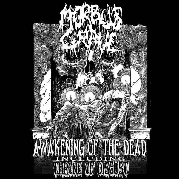 morbus grave – awakening of the dead / throne of disgust
