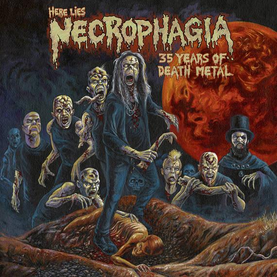 necrophagia – here lies necrophagia: 35 years of death metal