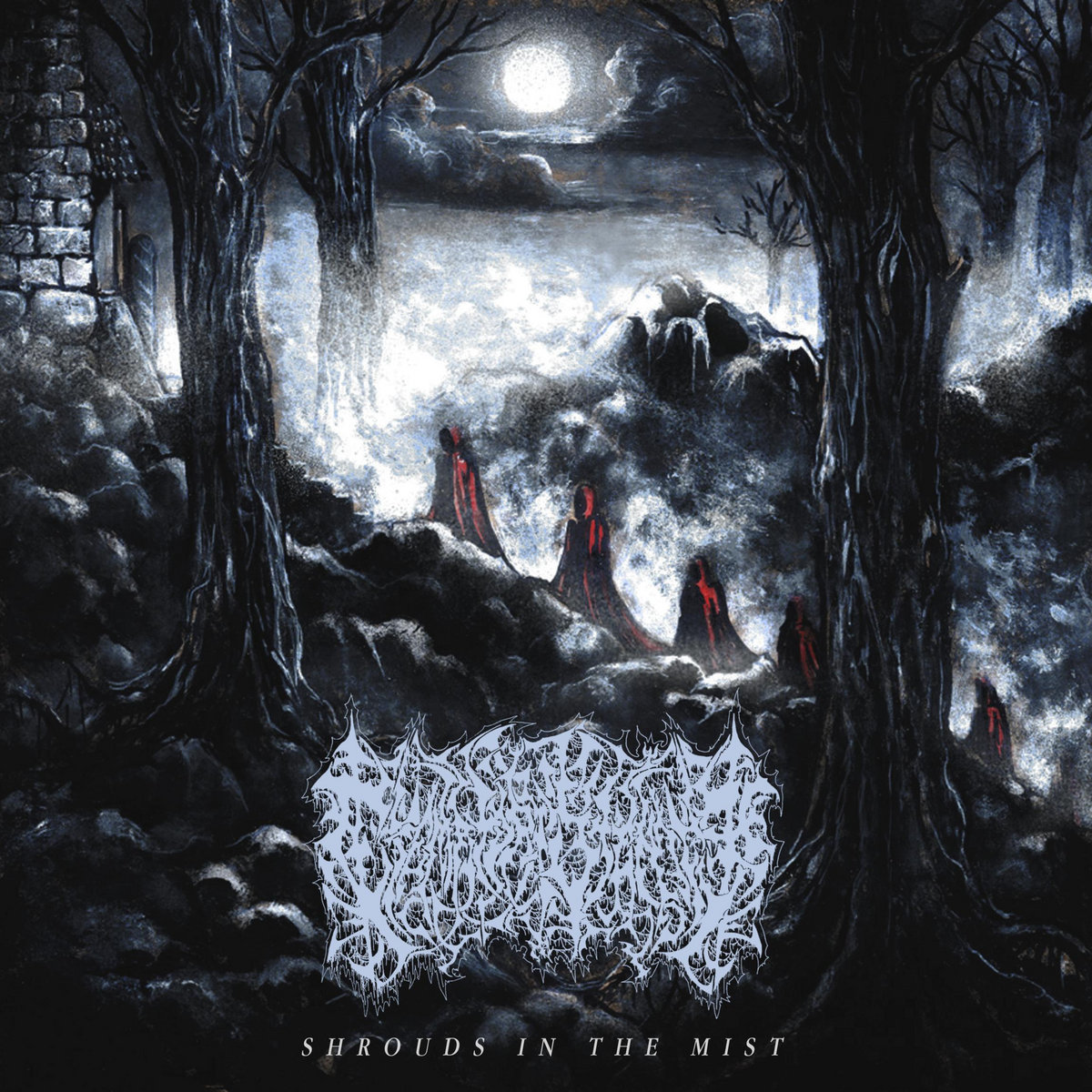 carnal tomb / crematory stench – descend / shrouds in the mist [split]