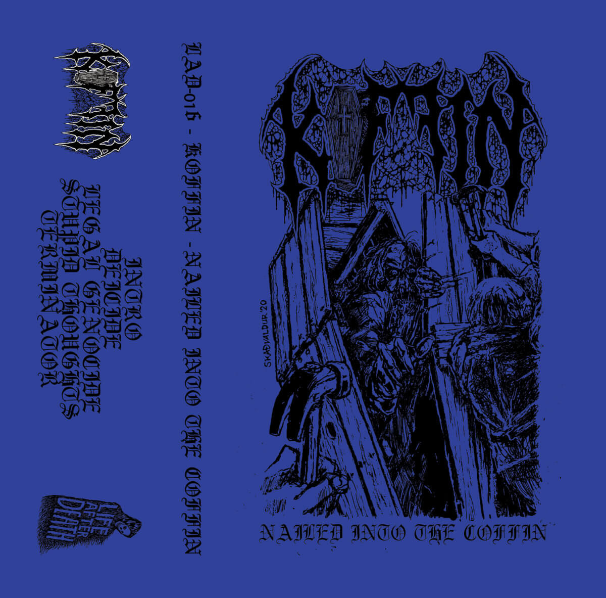 koffin – nailed into the coffin [demo]