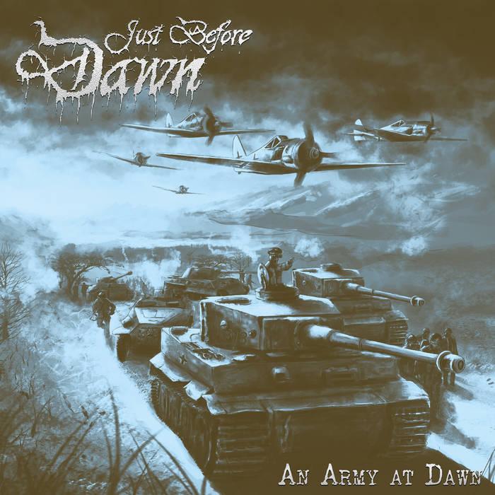 just before dawn – an army at dawn