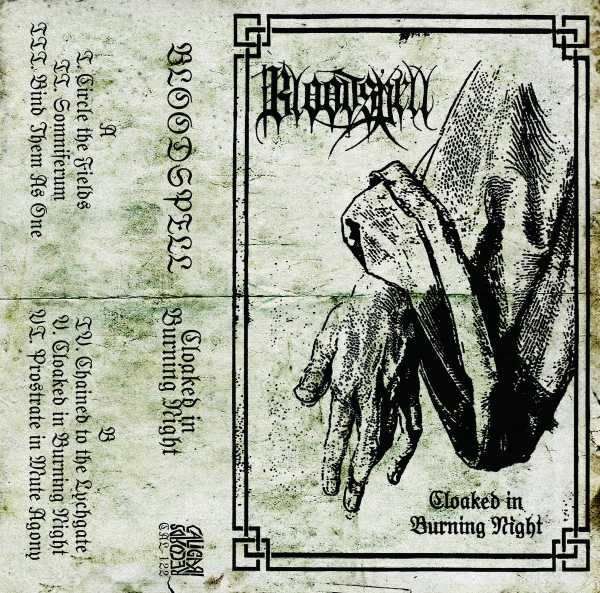 bloodspell – cloaked in burning night [ep]